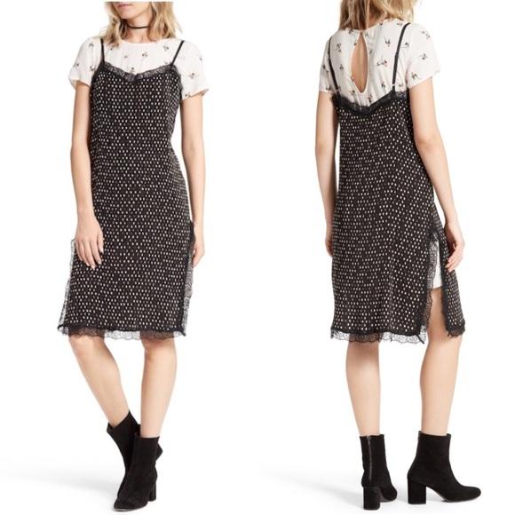 b406e329f77b Free People Dresses | Margot Slip Dress And Floral Tee | Poshmark